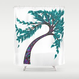 Enchanted Tree Shower Curtain
