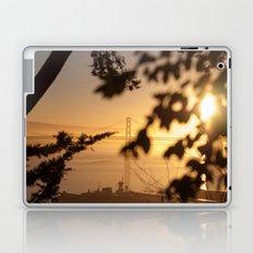 Bay Bridge - Sunrise Laptop & iPad Skin