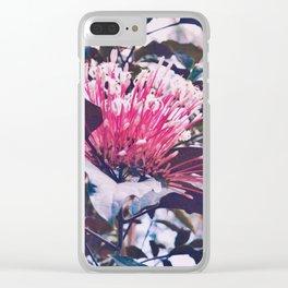 Garden Flower Clear iPhone Case