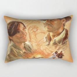 Indy with Marion Rectangular Pillow