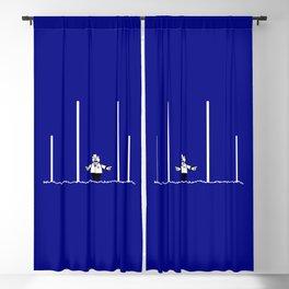 AFL Football Goal Umpire Blackout Curtain