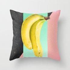 Eat Banana Throw Pillow