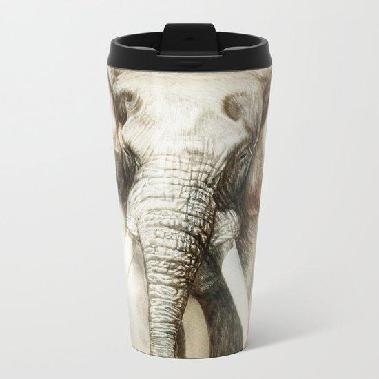 Elephant Metal Travel Mug