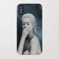 fear iPhone & iPod Cases featuring Fear by Jovana Rikalo
