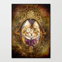 The Cheshire Cat Canvas Print