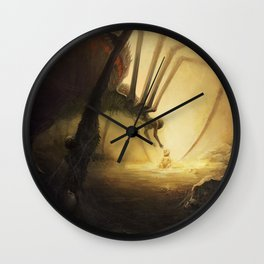 Spidermother Wall Clock