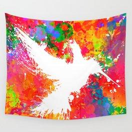 Hummingsplat - Colorless Wall Tapestry