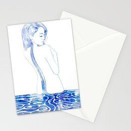 Water Nymph LXXV Stationery Cards