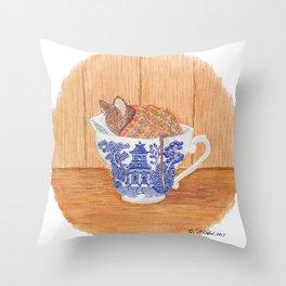 WillowMouse Throw Pillow