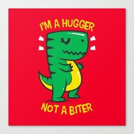 Hugger Biter Canvas Print
