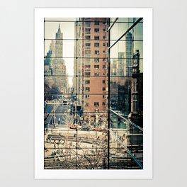 Columbus Circle NYC Art Print
