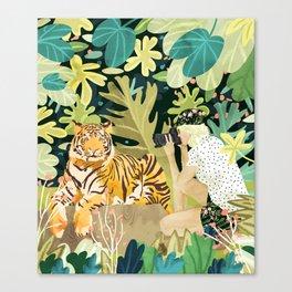 Tiger Sighting Canvas Print