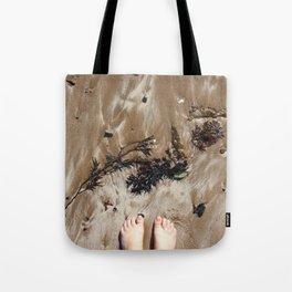 Sandy Toe Love Tote Bag