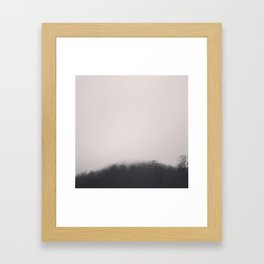 Wolf Mountain Framed Art Print
