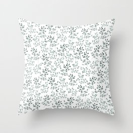 Ramitas pattern Throw Pillow
