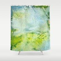 acid Shower Curtains featuring Acid by Cro_Ki