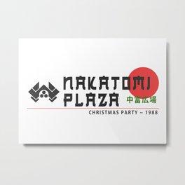 Nakatomi Christmas Party 1988 Artwork for Wall Art, Prints, Posters, Tshirts, Men, Women, Kids Metal Print
