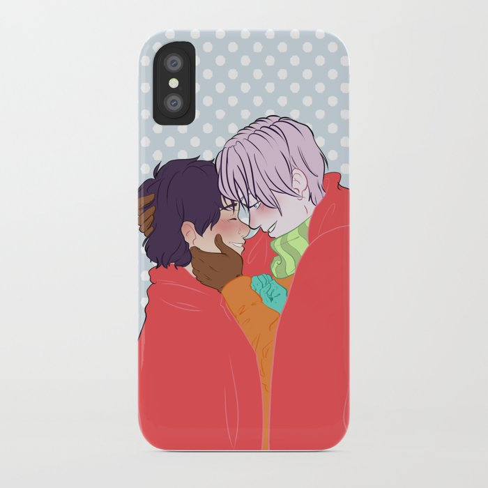 victuuri christmas iphone case