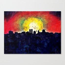 Skyline Peoria Canvas Print