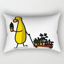 Plant Babies | Veronica Nagorny  Rectangular Pillow