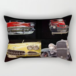 Chevy Collage of Classic Cars Rectangular Pillow