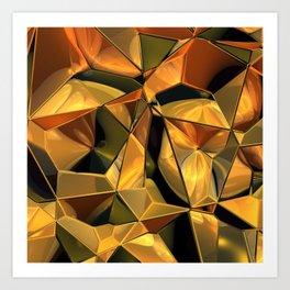 fractal design -72- Art Print
