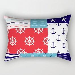 Beautiful Patch 10 (Nautical) Rectangular Pillow