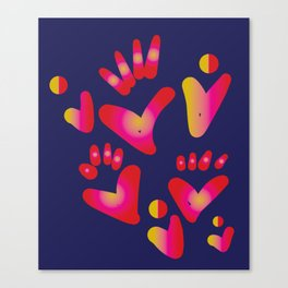 love.love.love Canvas Print