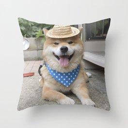 little farmer Throw Pillow