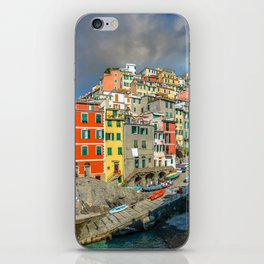 Cinque Terre, Italy (Houses on the Cliff) iPhone Skin