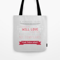 Dragon Age 2: Anders Romance Poster Tote Bag