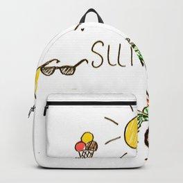Summer feels Backpack