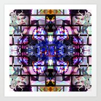 beth hoeckel Art Prints featuring BETH DITTO by Riot Clothing