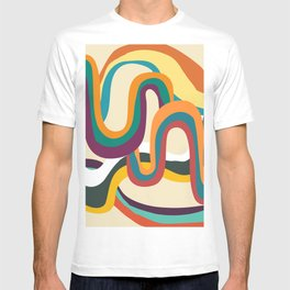 Groovy rainbow of doom T-shirt