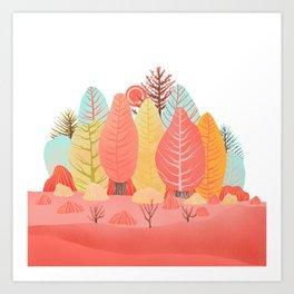 Spring landscapes 1 Art Print