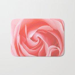 Velvet pink rose - Roses Flowers Flower Bath Mat