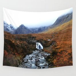 Fairy Pools of Scotland Wall Tapestry