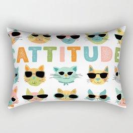 Cattitude Rectangular Pillow