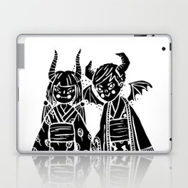 Demon Twins Laptop & iPad Skin