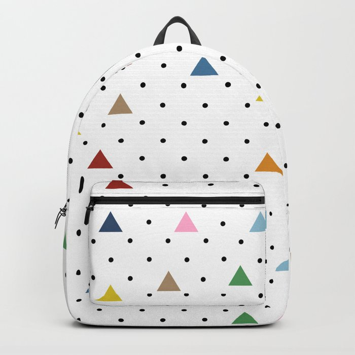 Pin Point Triangles Backpack
