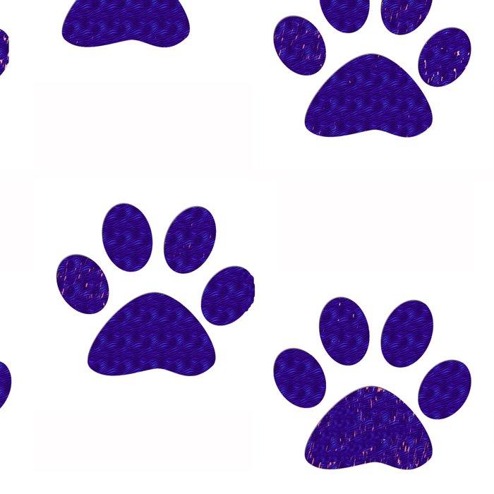 Purple Paws Leggings