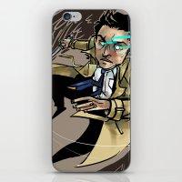 castiel iPhone & iPod Skins featuring Castiel by salternates
