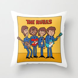 The Rutles Throw Pillow