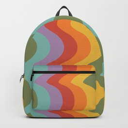 Rainbow Stripes 2 Backpack