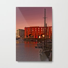 Albert Docks, Liverpool Metal Print