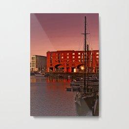Albert Docks, Liverpool Metal Print