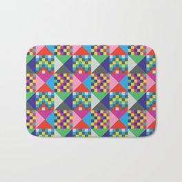 geometric//pattern//amazin-ness Bath Mat