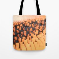 cabin pressure Tote Bags featuring Pressure by Christoph Grigoletti
