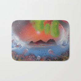 Peek Of The Reef Bath Mat