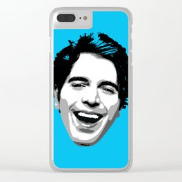 PopArt Shane Clear iPhone Case